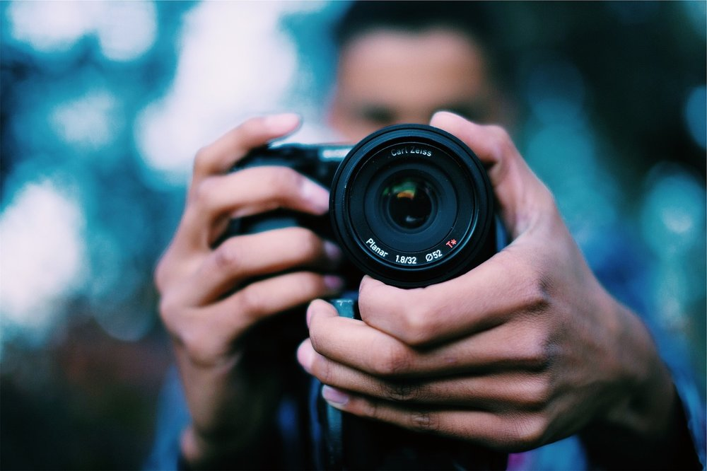 Intermediate Photography Course | Sky blue photography